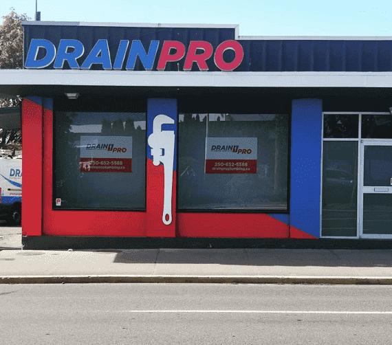 Drain Pro Plumbing new location.