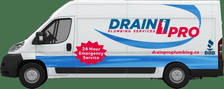 Drain Pro Plumbing service van