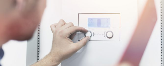 adjusting temperature on tankless water heater