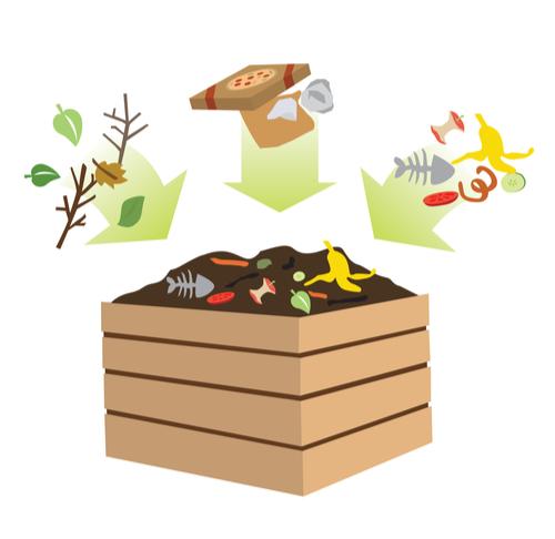 compost bin prevent clogged drain